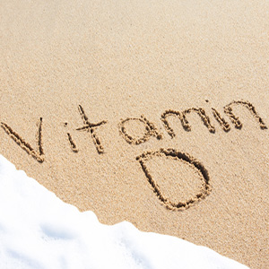 Vitamin D Written In The Sand