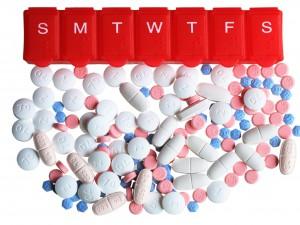 Organizer Box and Pills