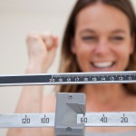 Scale showing weight loss