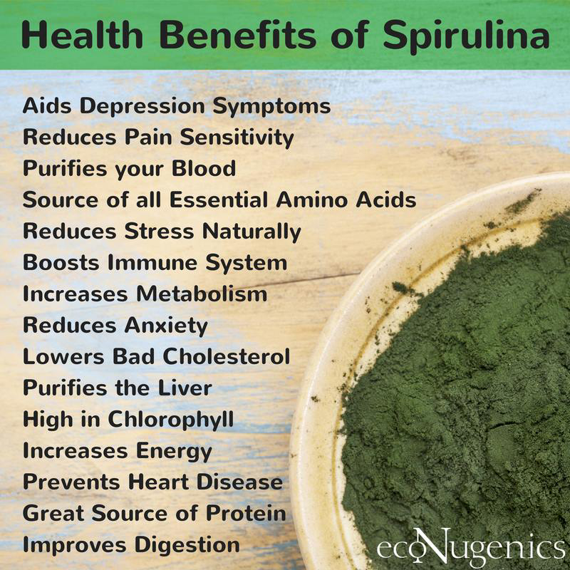 Health Benefits: What Is Spirulina Health Benefits