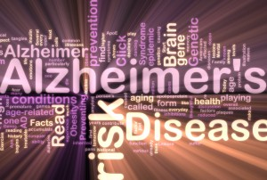 Alzheimer's word display