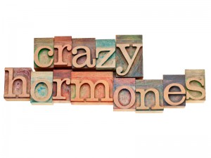 Crazy hormones sign