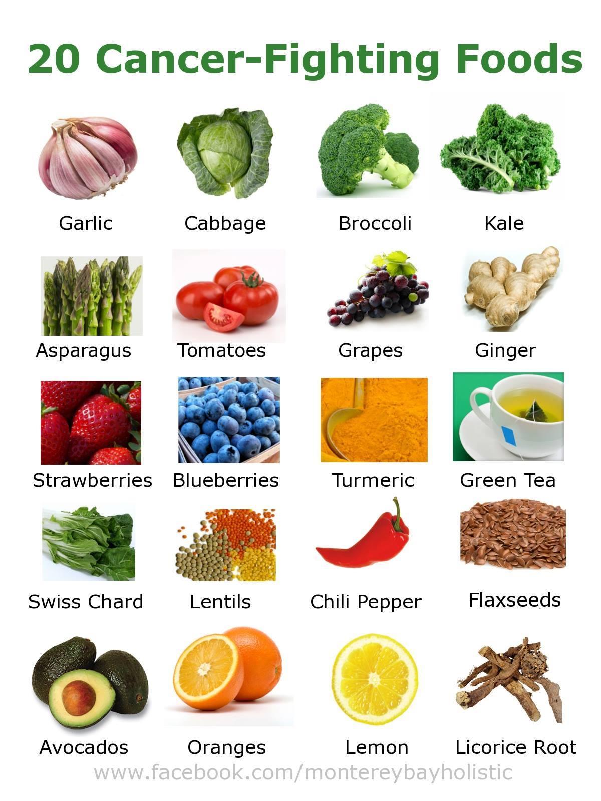 20 cancer fighting foods you should be eating infographic easy