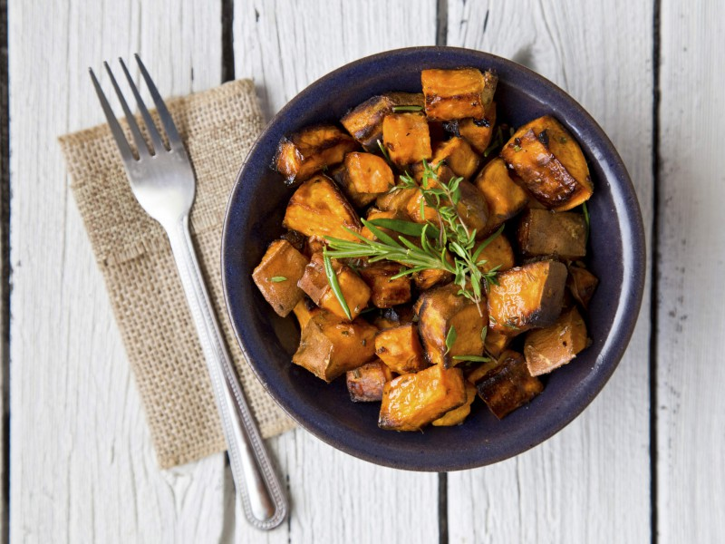 In the kitchen with Kelley: Maple-Roasted Sweet Potatoes