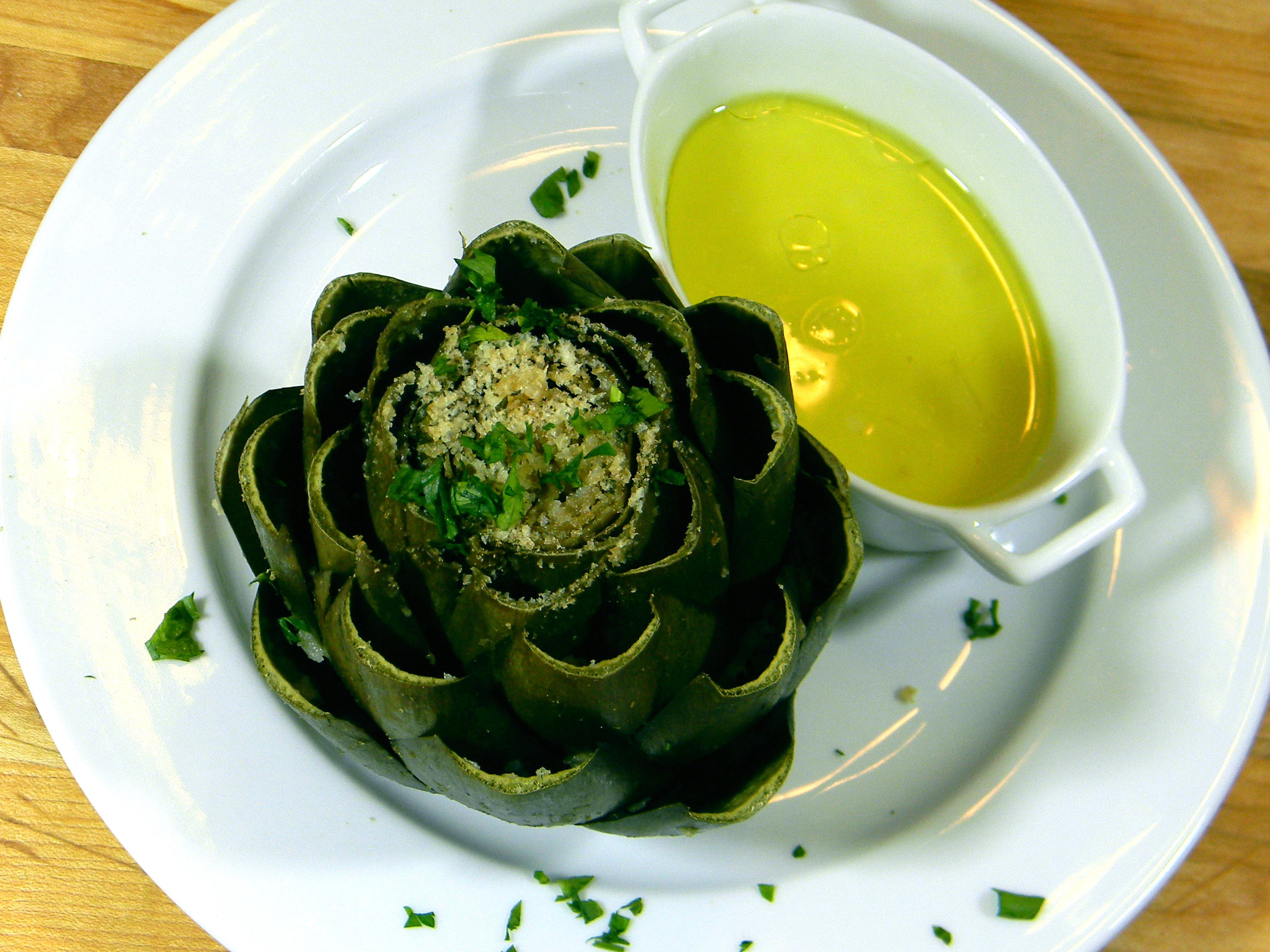 In the kitchen with Kelley: Slow Cooker Steamed Artichokes