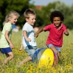 kids at recess