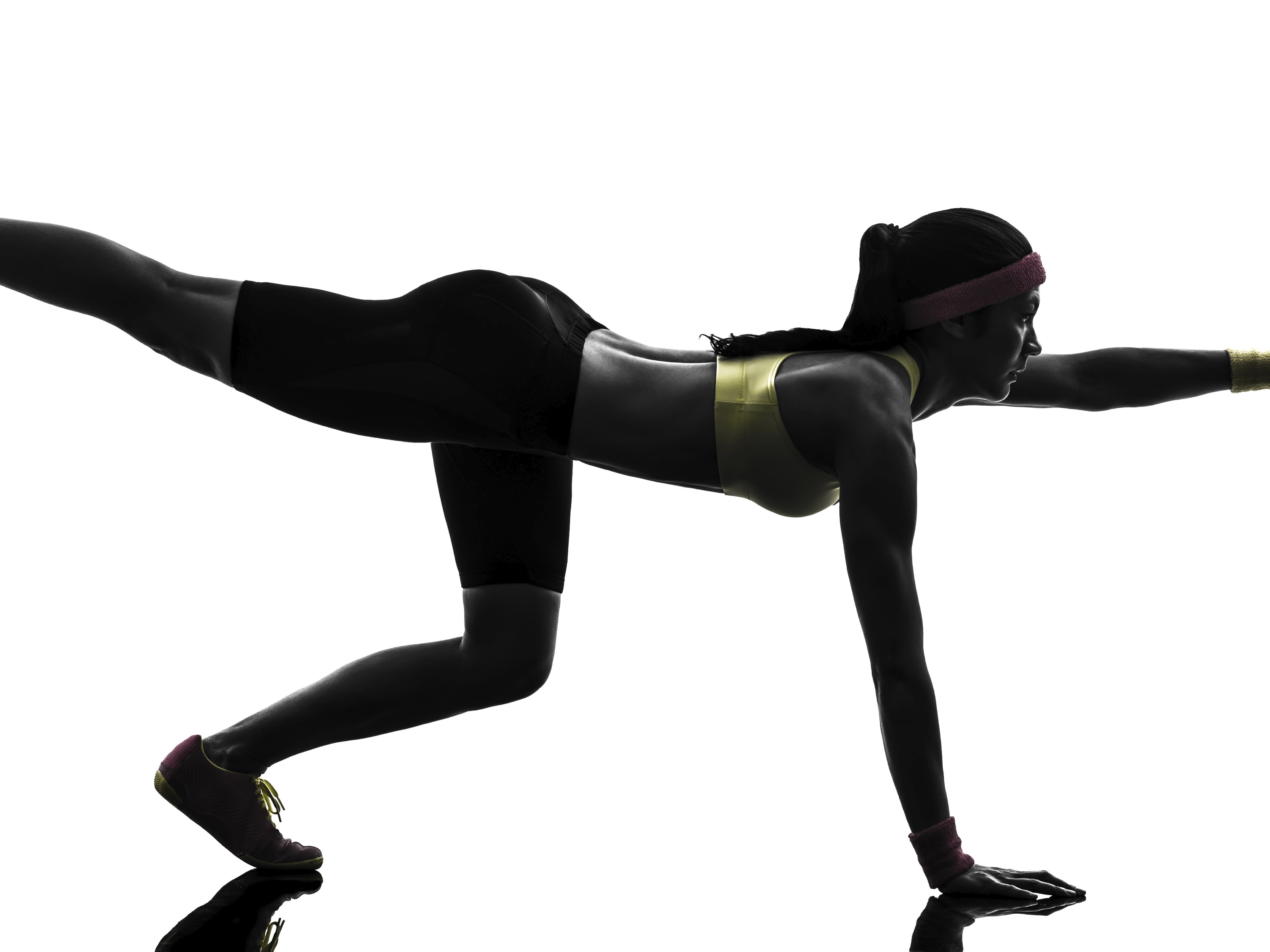 Arm and leg extensions for core stability and strength