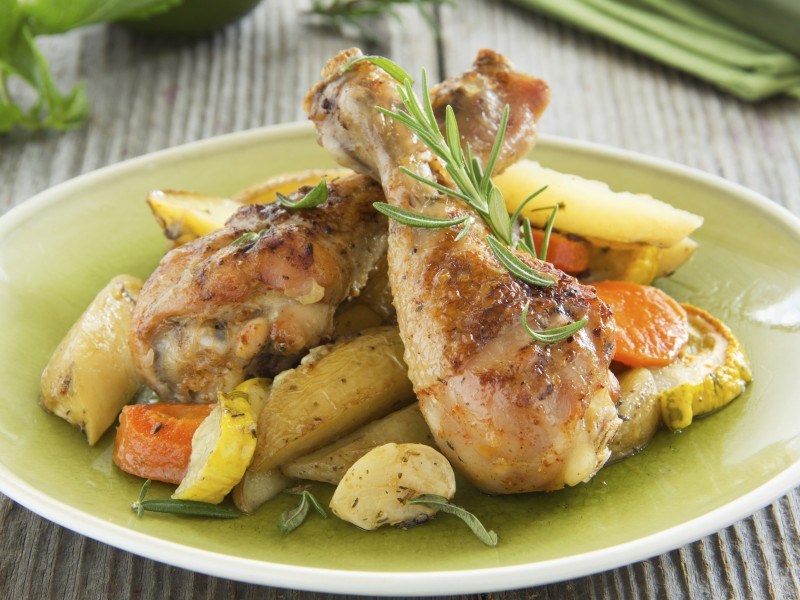 ... with Kelley: Roasted Honey-Mustard Chicken Thighs And New Potatoes