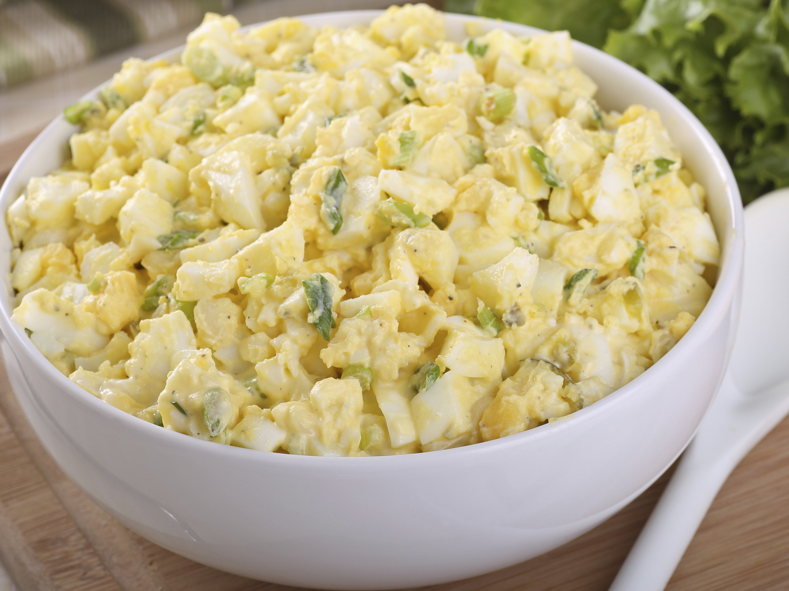 Egg Salad With Avocado And Chickpeas