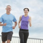 Mature Couple Jogging