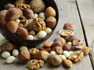 This nut contains natural substances that slow down the destructive growth of cancer cells.
