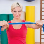 Here's a simple exercise you can do at home that can keep the shoulders loose and mobile.
