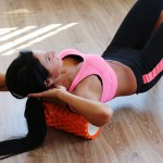 These simple rolling exercises for the upper body will help restore mobility to the shoulders and back.