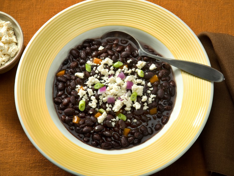 ... black beans (28 grams in one cup!), this tasty meal leaves me feeling