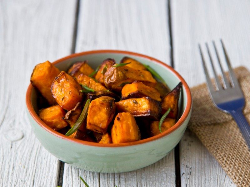 Honey And Cinnamon Roasted Sweet Potatoes: In the kitchen with Kelley