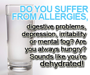 Get Enough Water To Restore Your Health And Energy