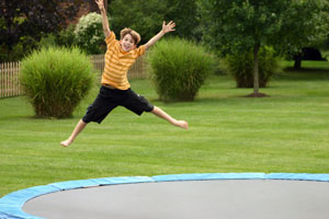 Trampolines Bounce Kids Into The Hospital