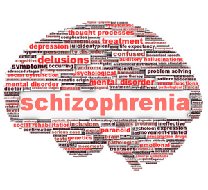 the effects of schizophrenia on the While dopamine d2/d3 receptors are elevated in schizophrenia, the effect size is small, and only evident in medication naive schizophrenics on the other hand.