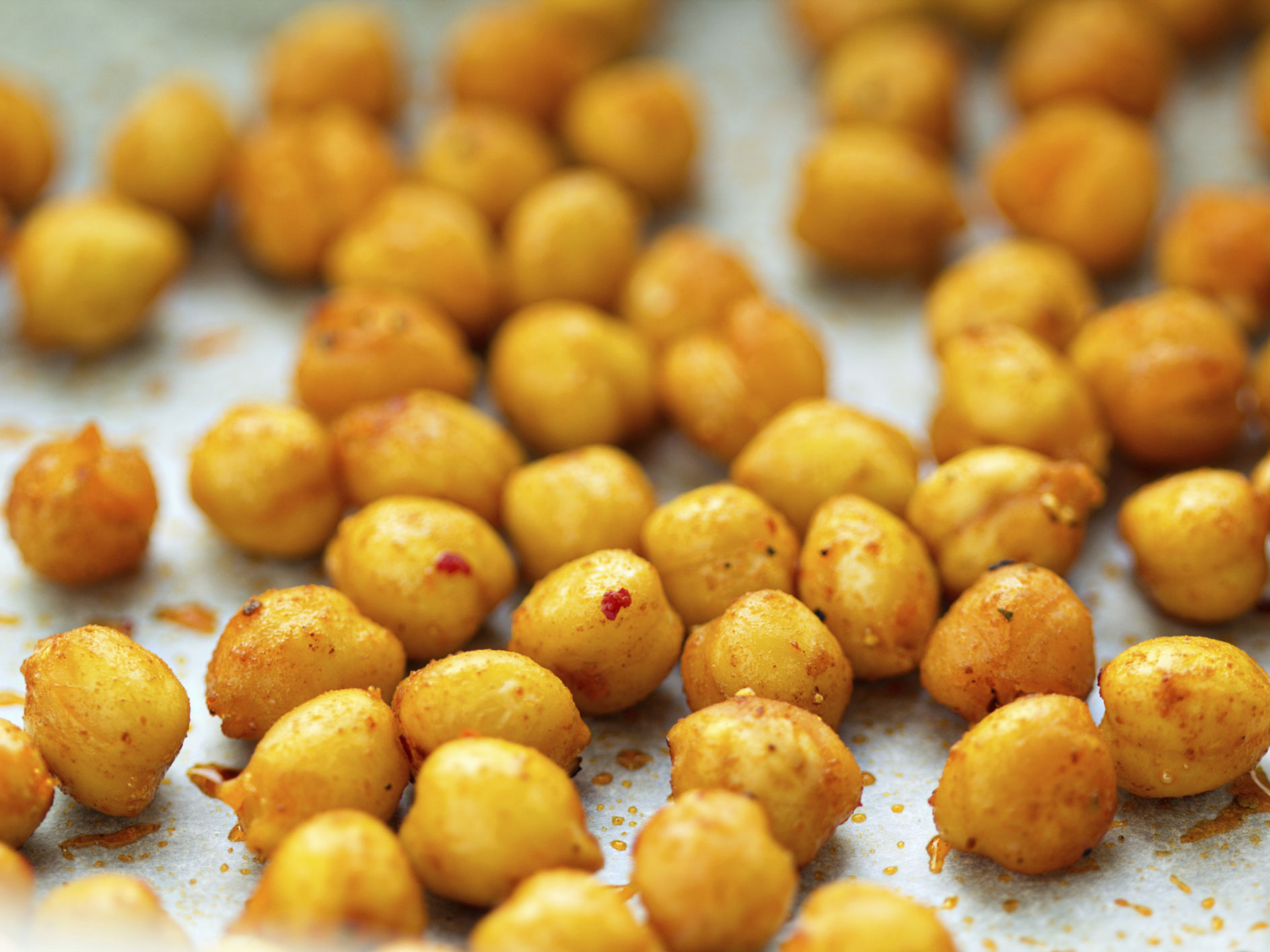 In the kitchen with Kelley: Savory Roasted Chickpeas