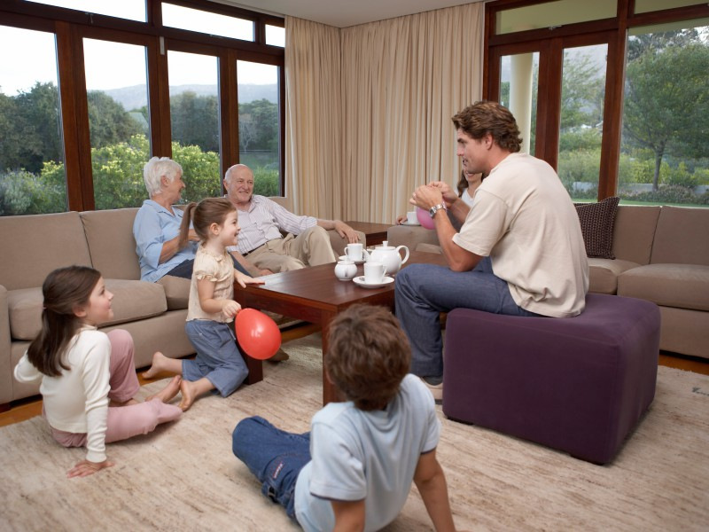Clean up these dangerous chemicals that are in your living for The family room research