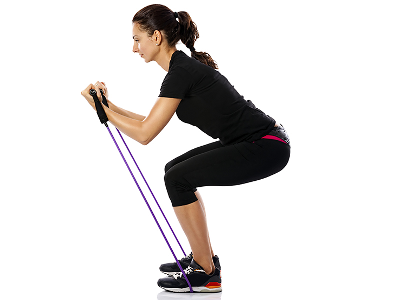 Strengthen Your Lower Body With Resistance Bands