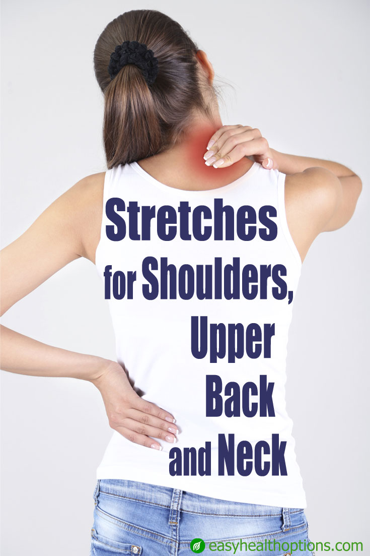 Stretches For Shoulders Upper Back And Neck Easy Health