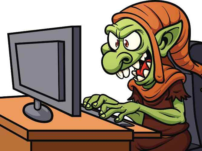 Image result for Images for Internet Trolls