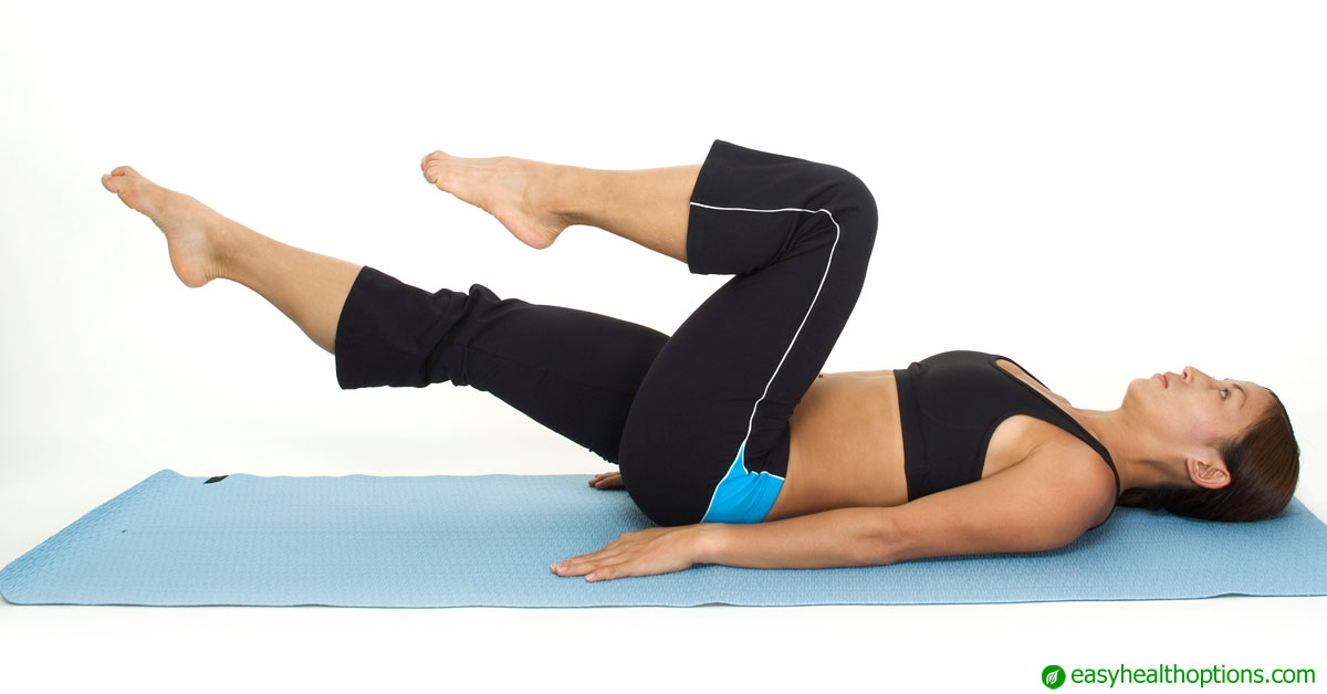 Reverse crunches for the abdominal strength you need most