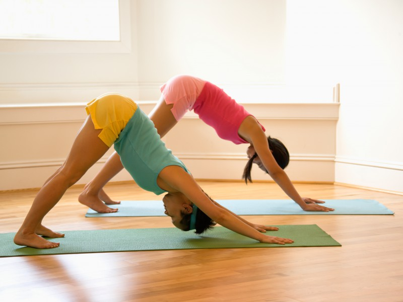 """Get strong and flexible with yoga's """"Upward Dog, Downward Dog"""""""