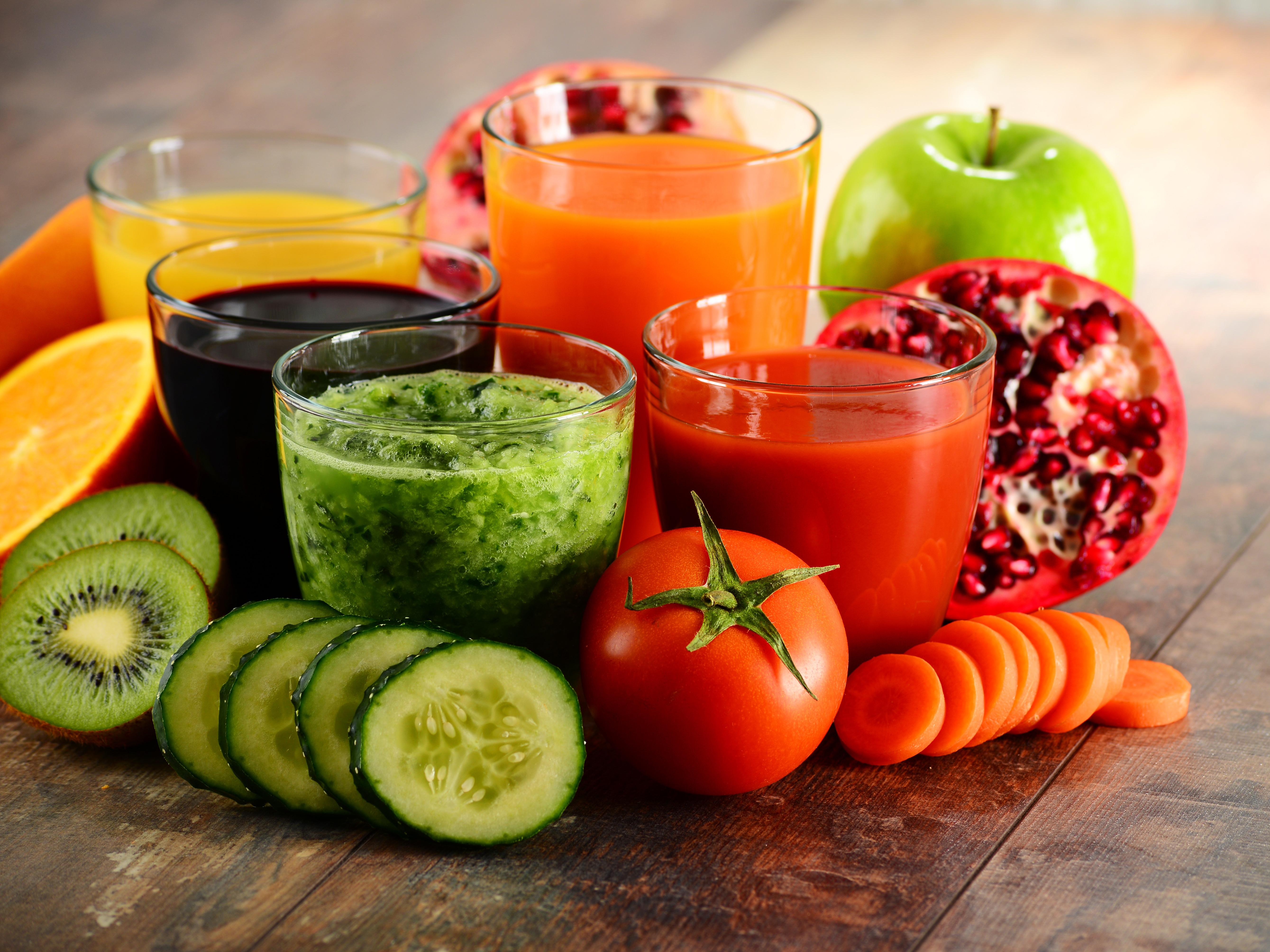 A juice feast: The easiest gentlest internal cleanse