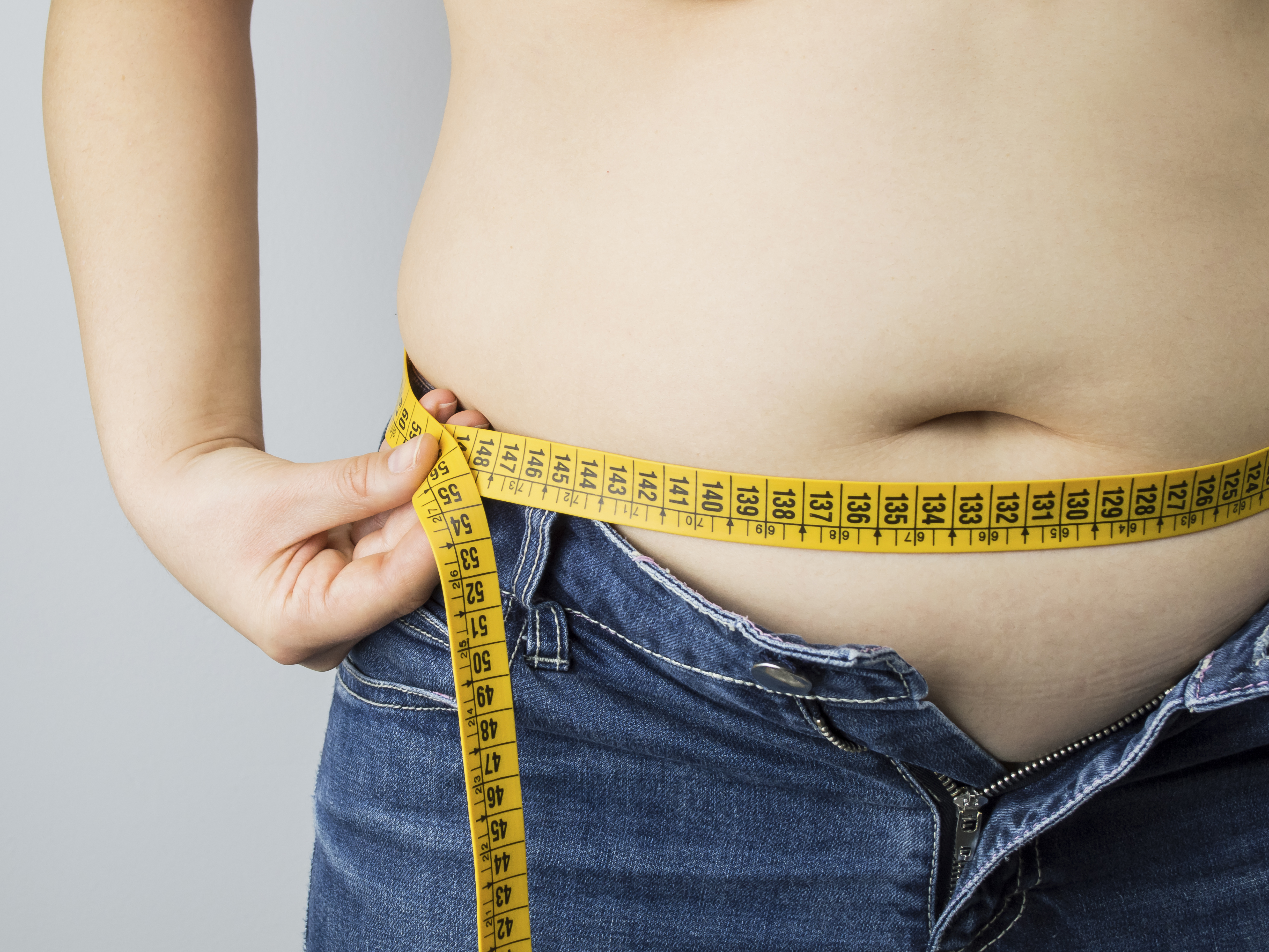 Hidden food toxin packs on the belly bulge
