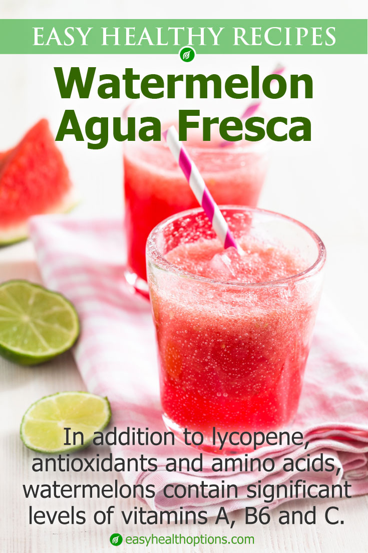In the kitchen with Kelley: Watermelon agua fresca
