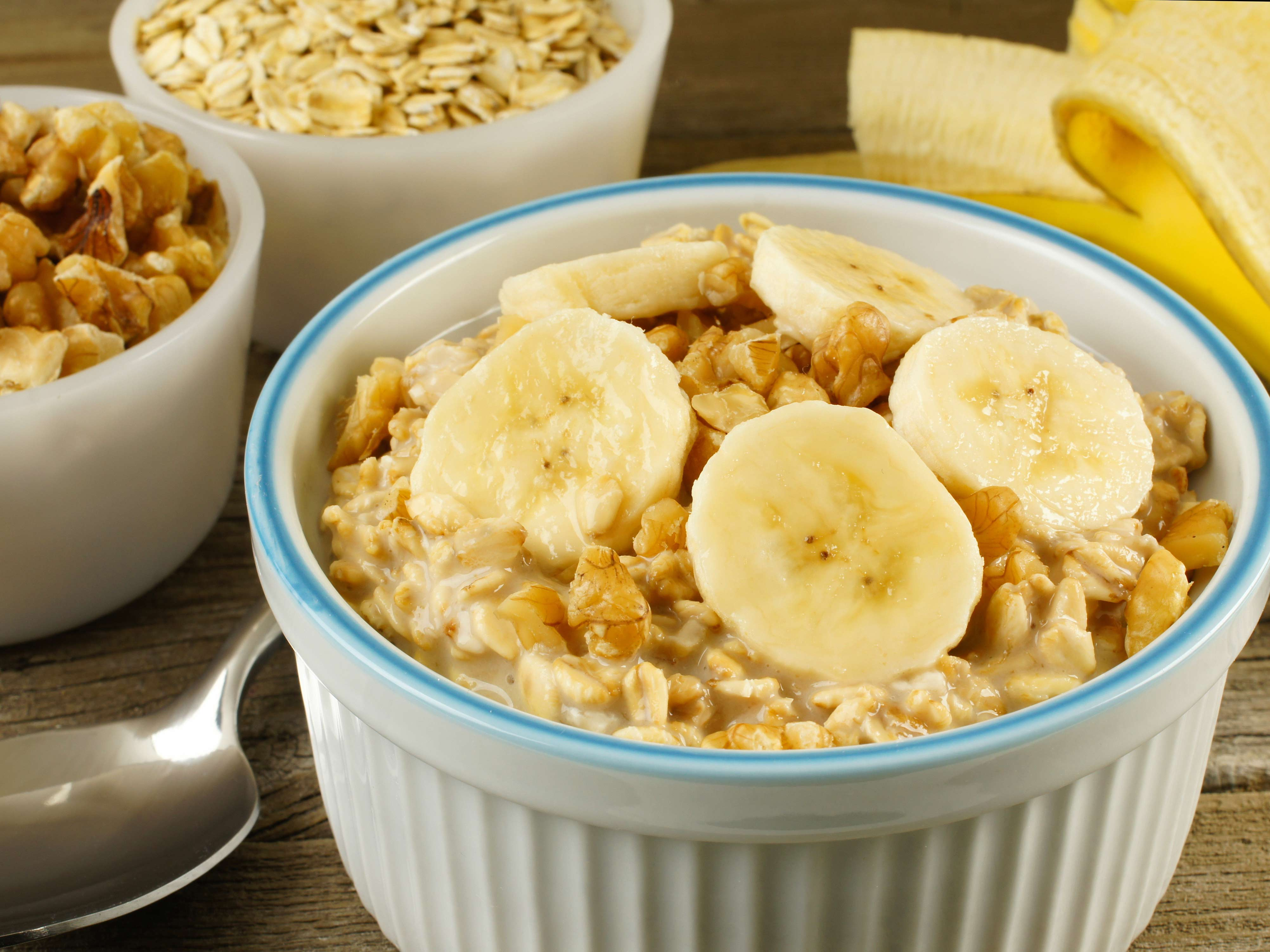 In the kitchen with Kelley: Slow cooker oatmeal with bananas and nuts