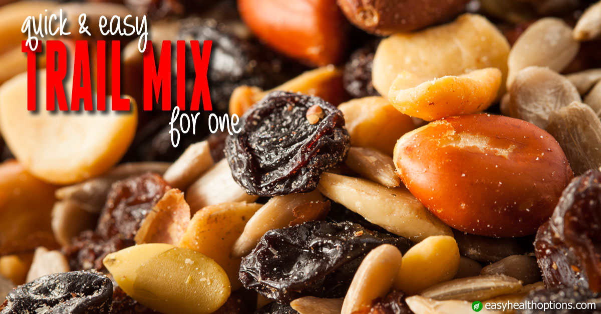 Quick And Easy Trail Mix For One In The Kitchen With Kelley