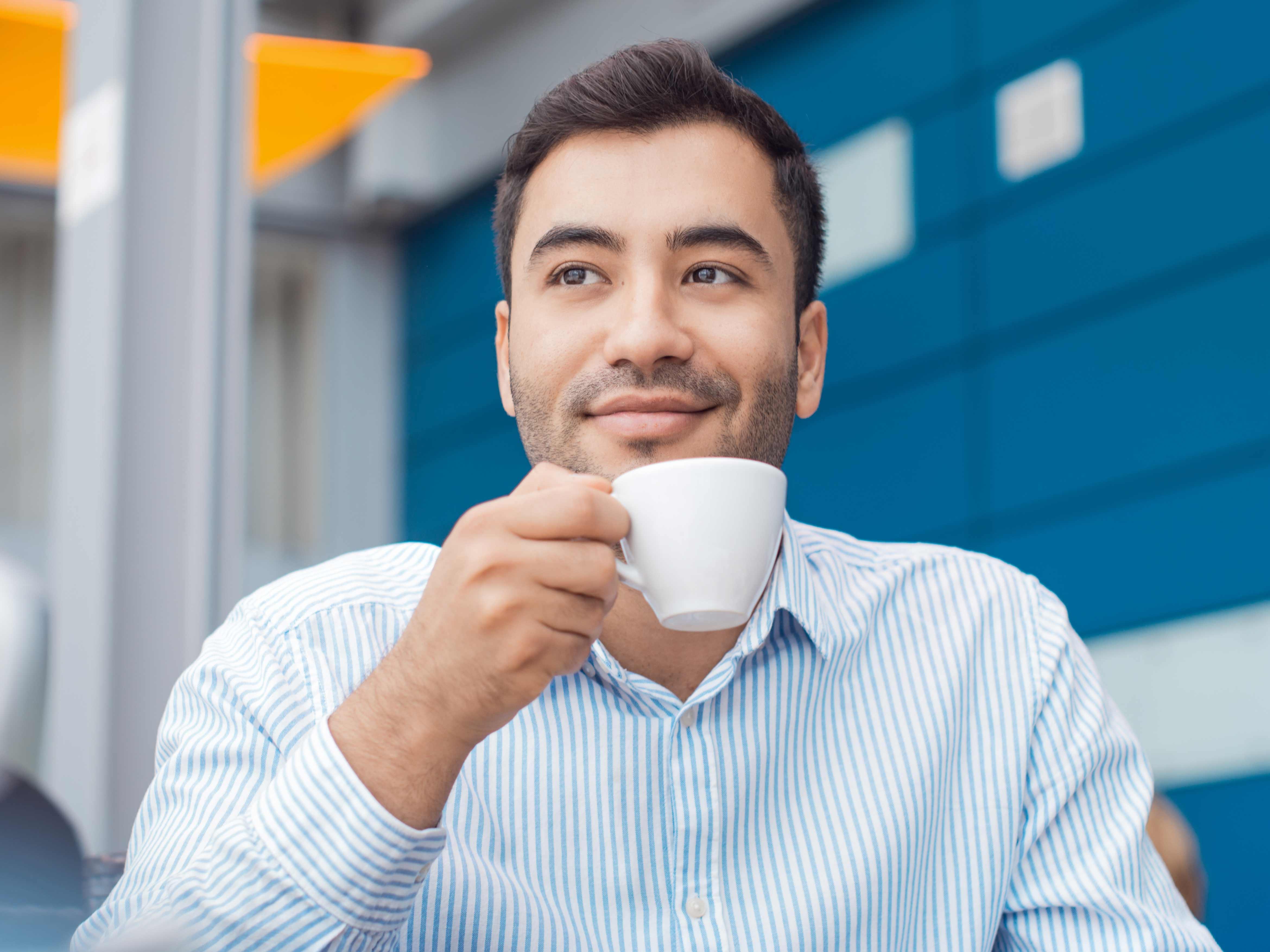 It's unanimous! Drinking coffee has big perks