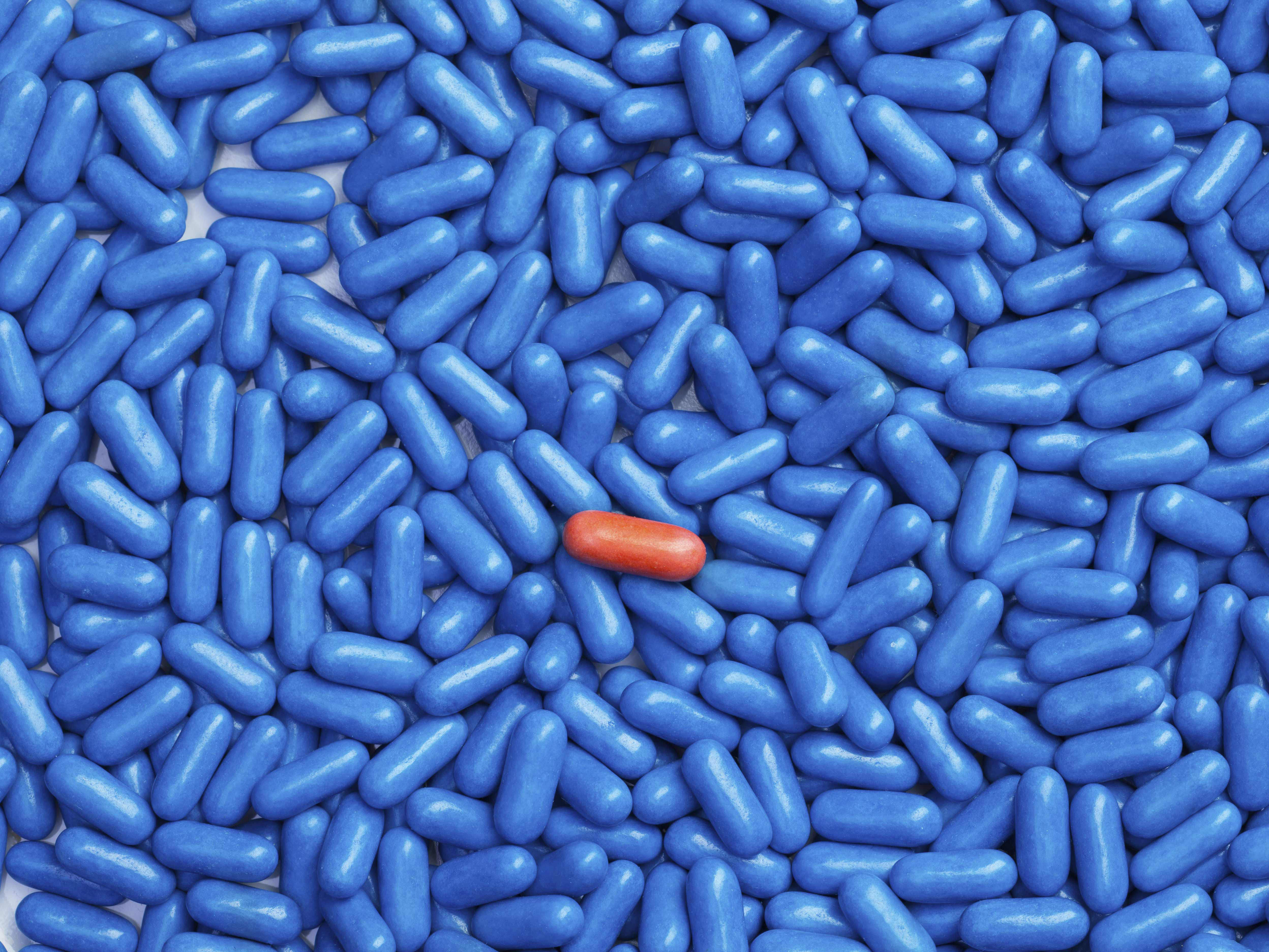 Vitamin may solve problem of the little blue pill