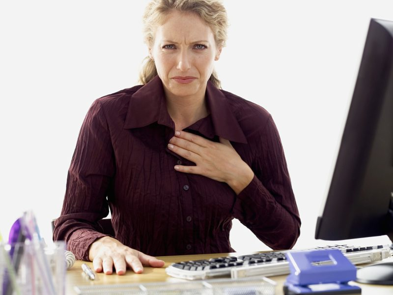 how to stop indigestion chest pain