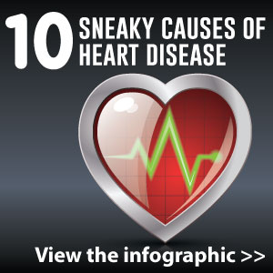 10 sneaky causes of heart disease [infographic]