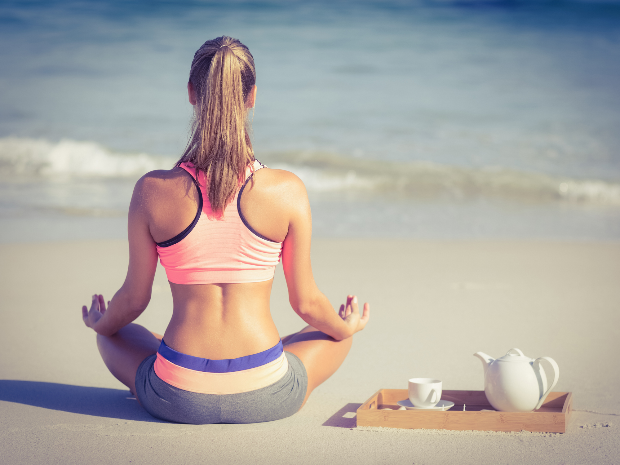 Yoga in a cup: Calming and cancer-fighting