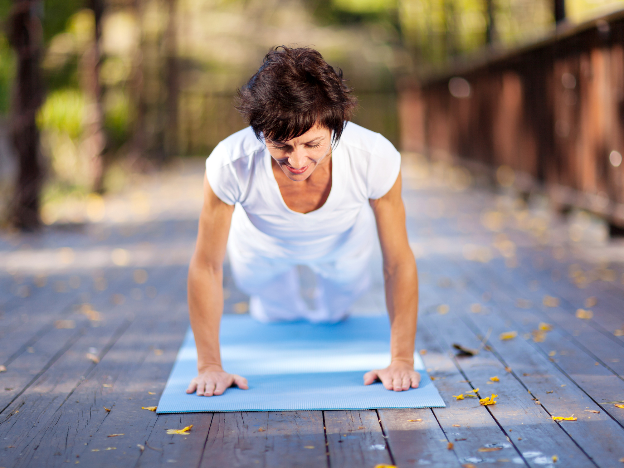 Short workouts: How to firm up and tame hormones