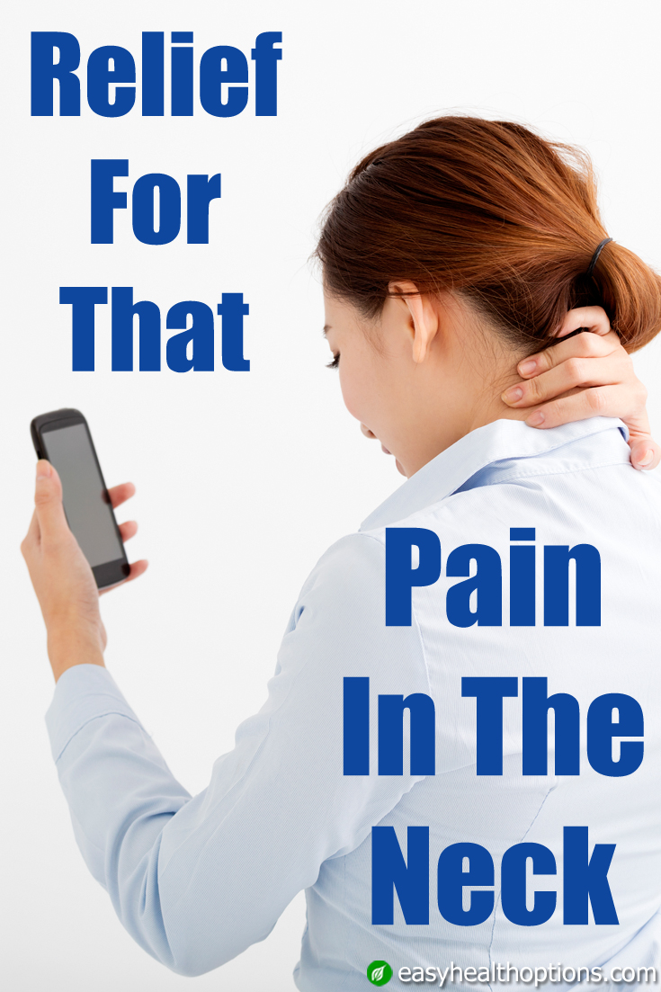 relief for that pain in the neck