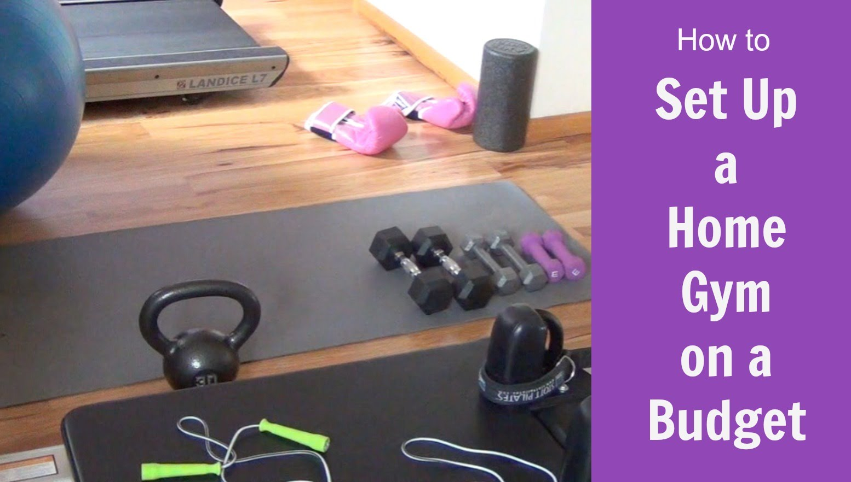 How to set up a home gym on a budget easy health options®