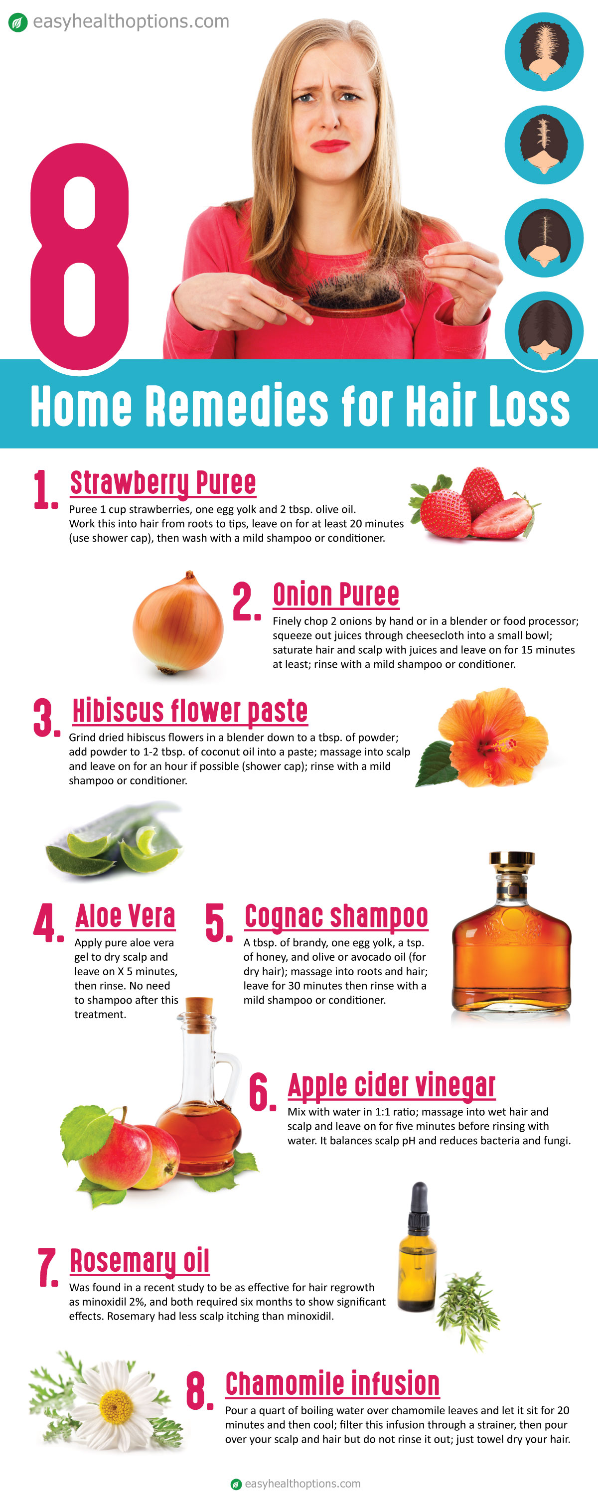 At home remedies for hair loss