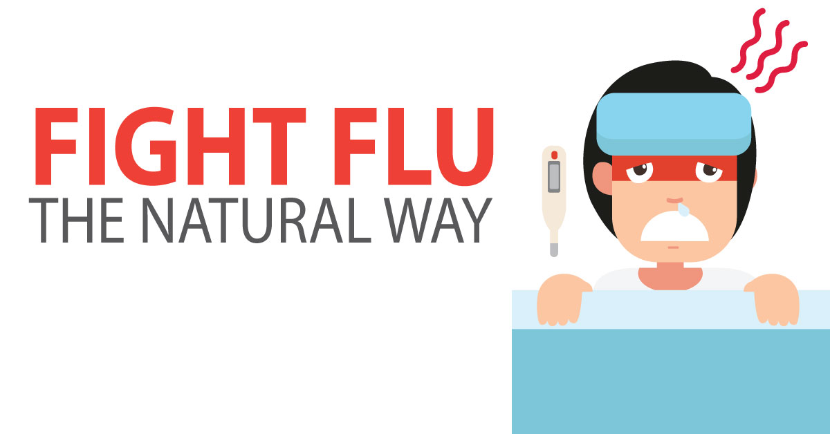 How To Treat Flu Natural Way