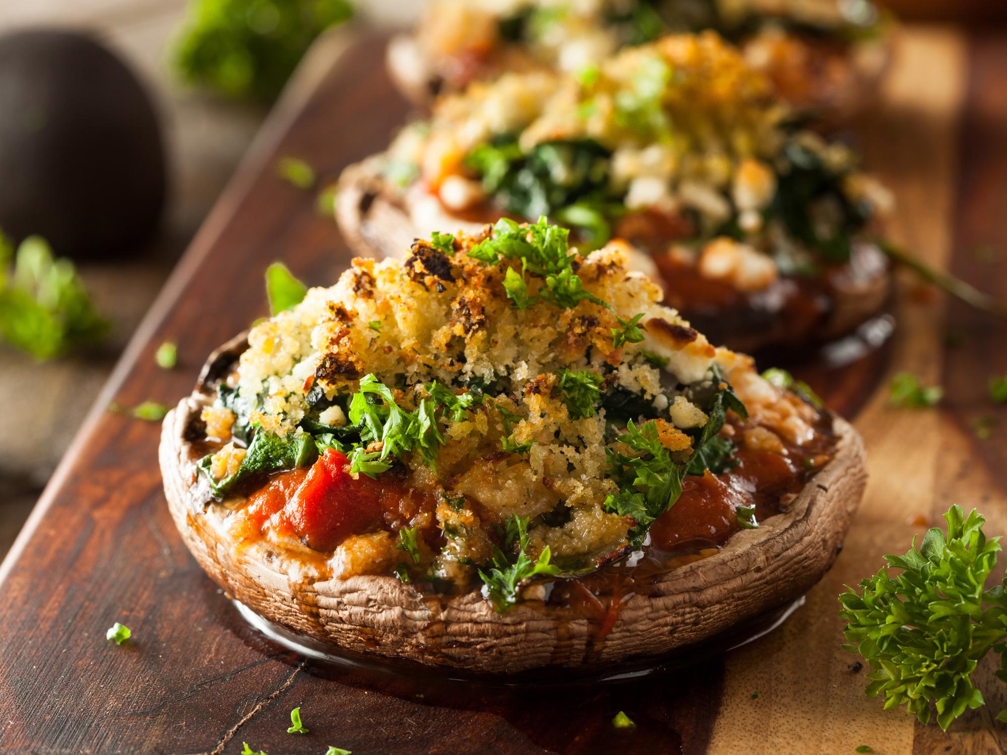 Recipe: Personal portobello pizzas - Easy Health Options®