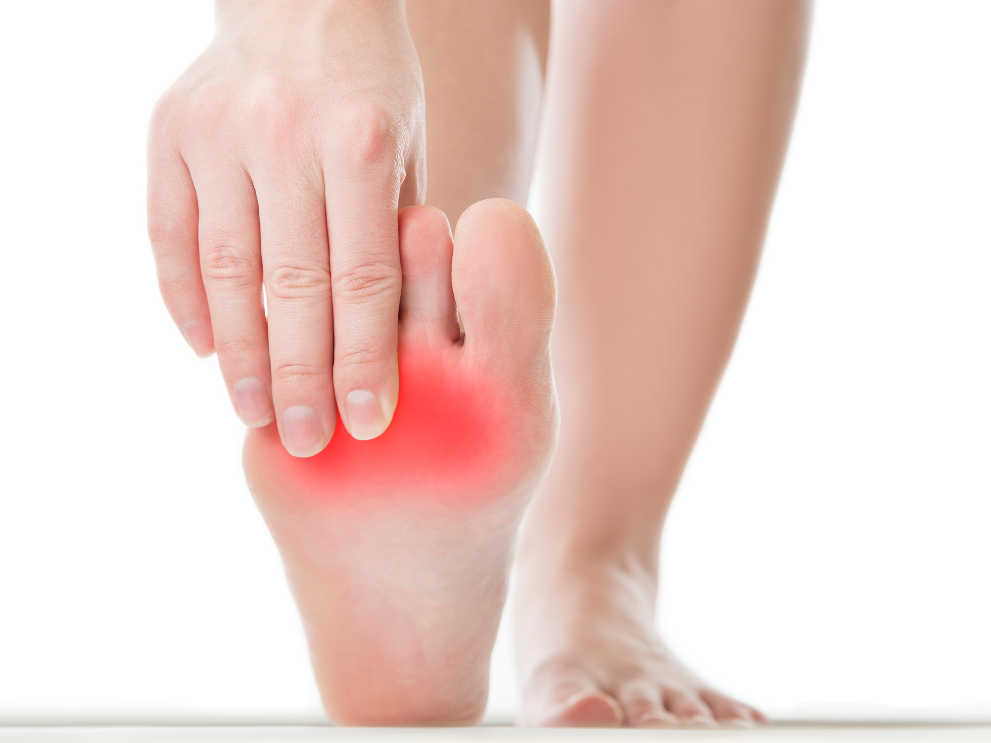 Fast, easy foot pain cures