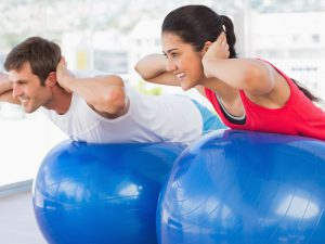 stability ball workout for super core fitness  easy