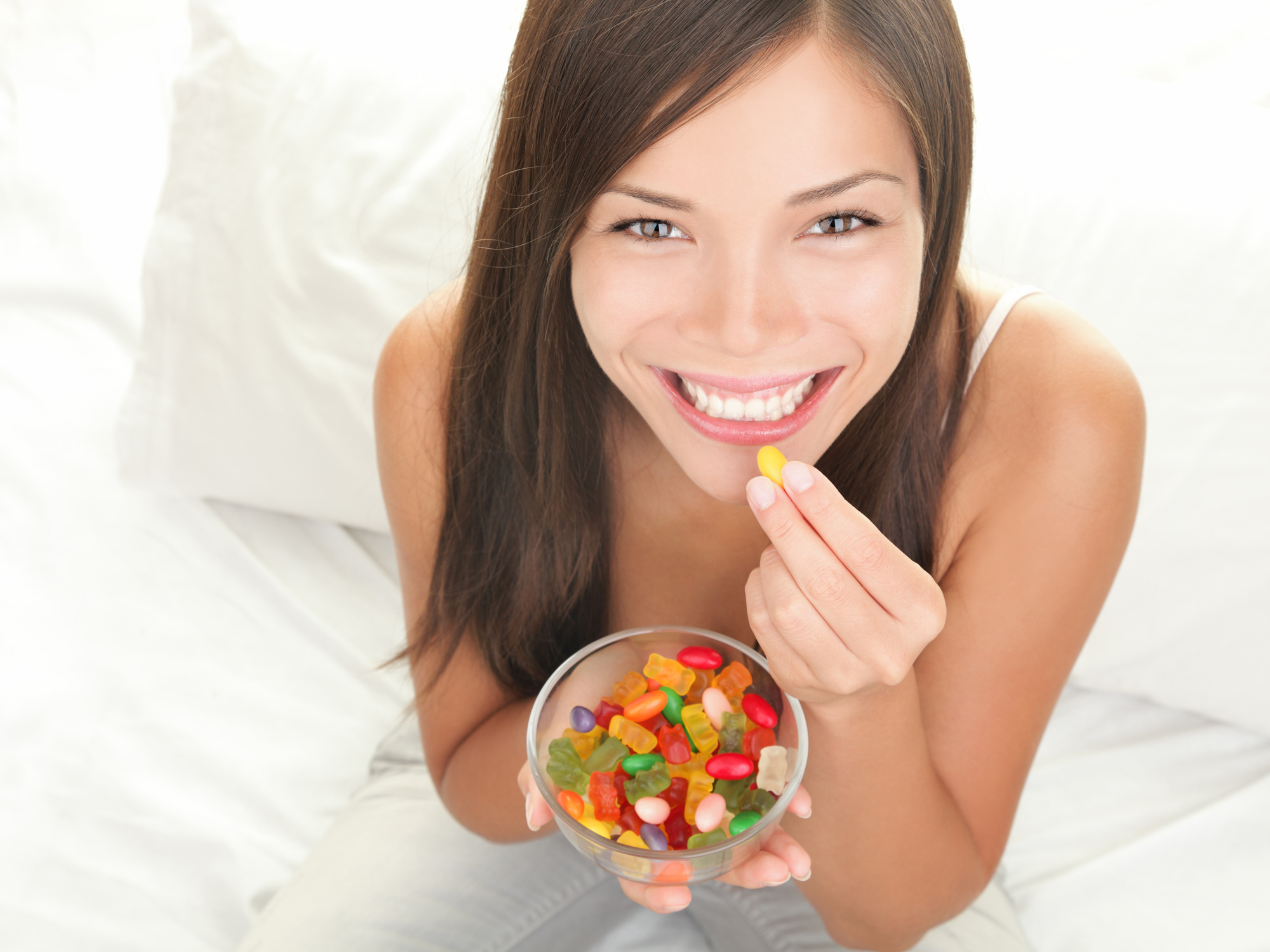 The candy cure to decrease stress and lose weight