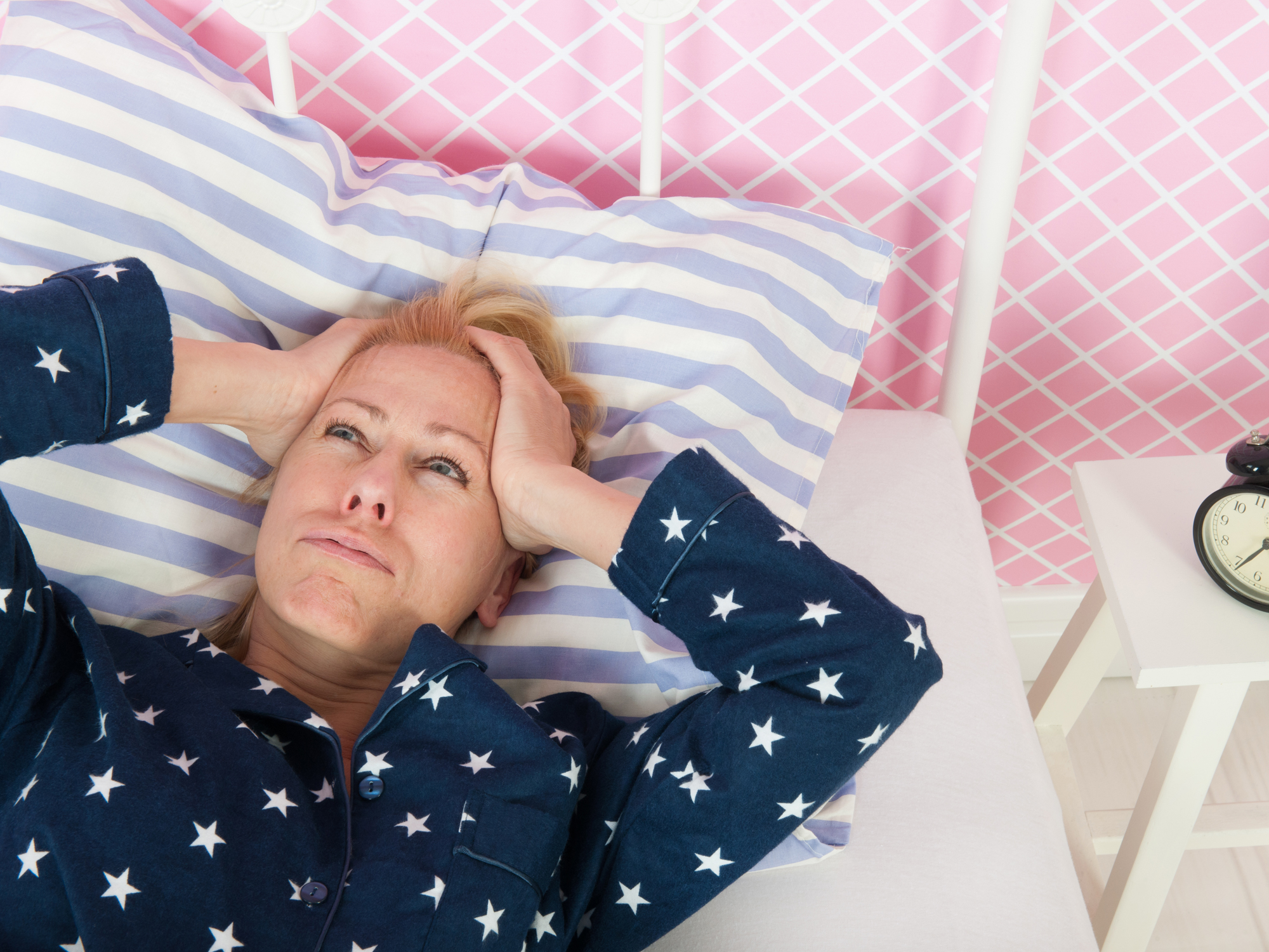 chronic insomnia Chronic insomnia often starts out innocently enough stress or trouble at home or  work interferes with sleep for a few nights but then the habits.