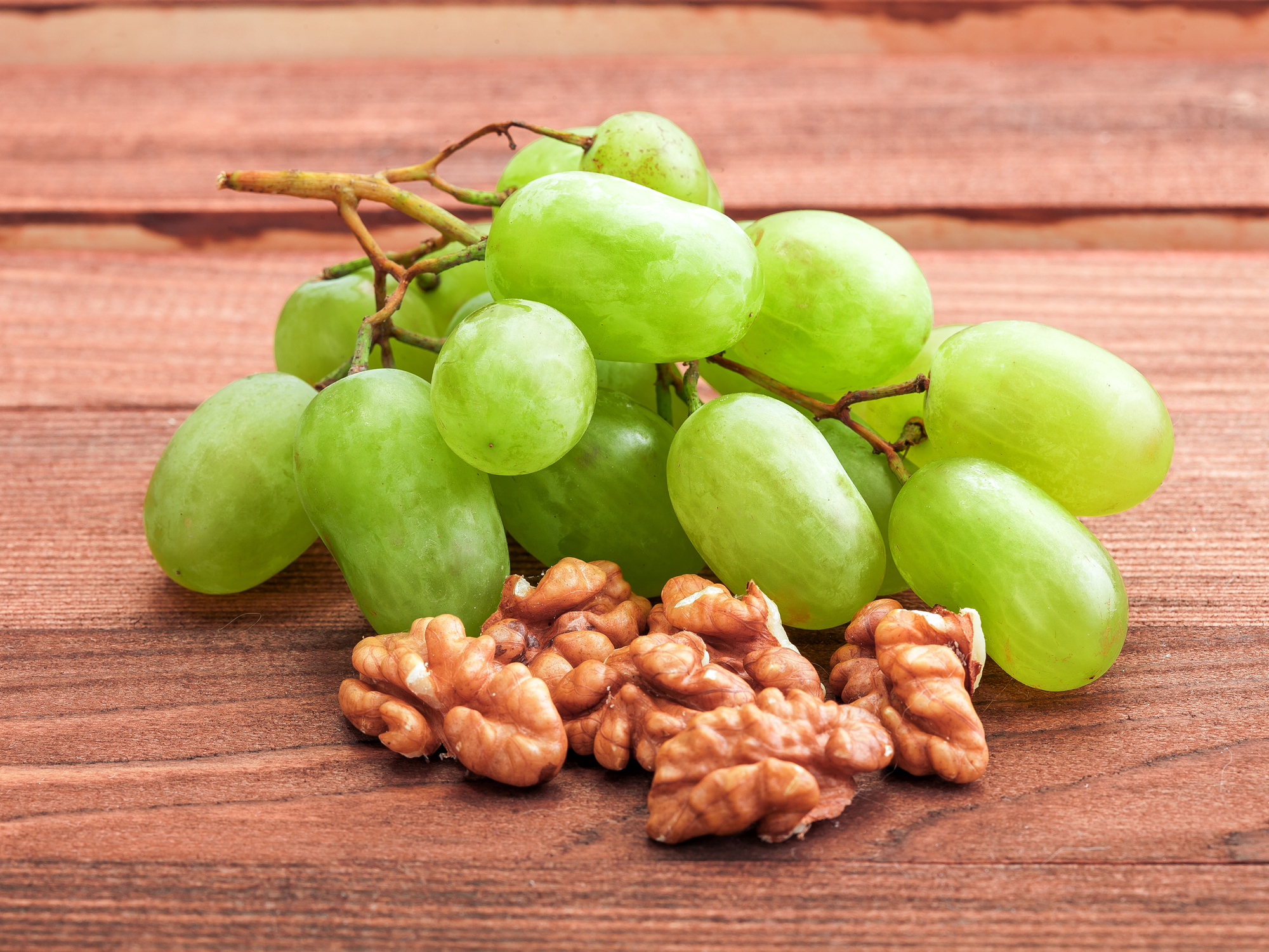 In the kitchen with Kelley: Grapes and walnuts with creamy lemon sauce